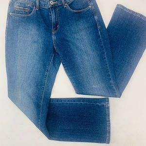 Levis 515 Womens Jeans 8 Blue Boot Cut Stretch